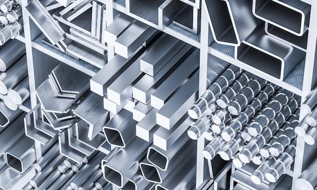 Barra de metal 3d