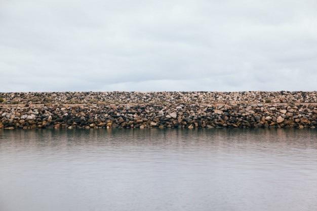 Barragem de pedra