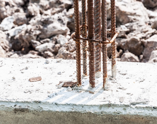 Barras de aço deformadas