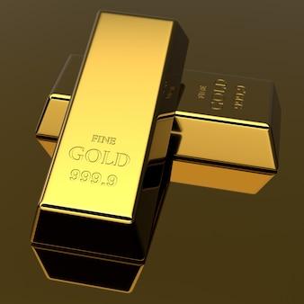 Barras douradas