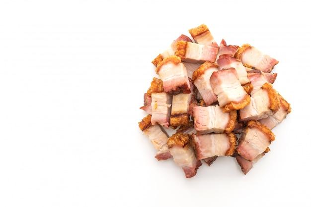 Barriga de porco crocante