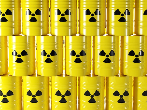 Barril radioativo