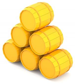 Barris amarelos