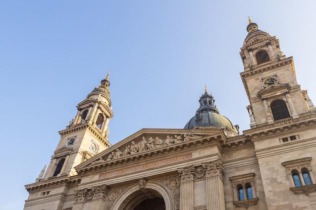 Basílica de santo estêvão, famoso ponto turístico de budapeste