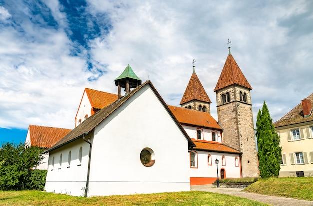 Basílica de são pedro e paulo em reichenau, alemanha