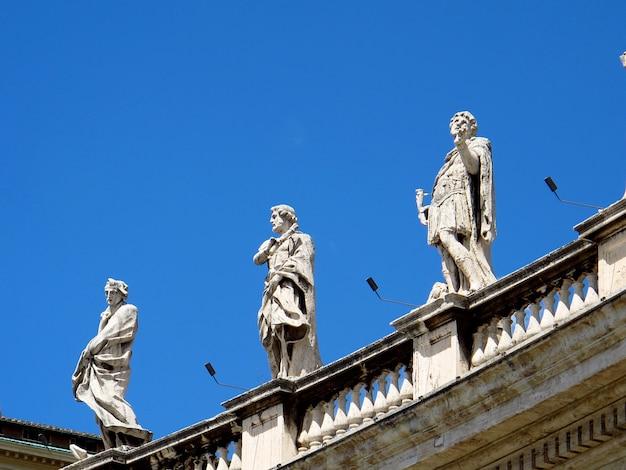 Basílica de são pedro, vaticano, roma, itália