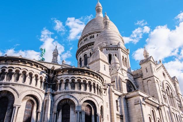 Basílica do sacré coeur em paris