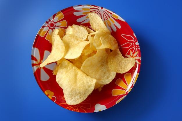 Batata chips fritos