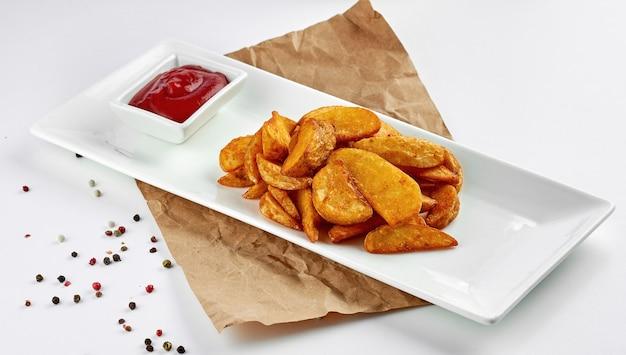 Batatas assadas clássicas de idaho