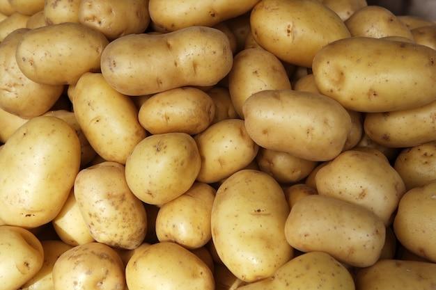Batatas cruas
