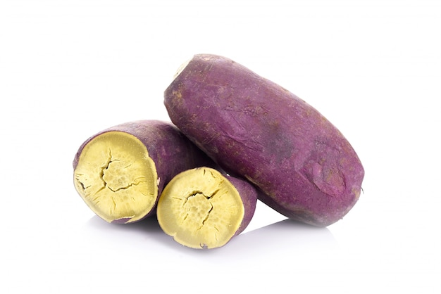 Batatas doces.