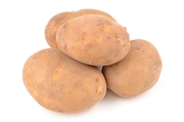 Batatas em branco