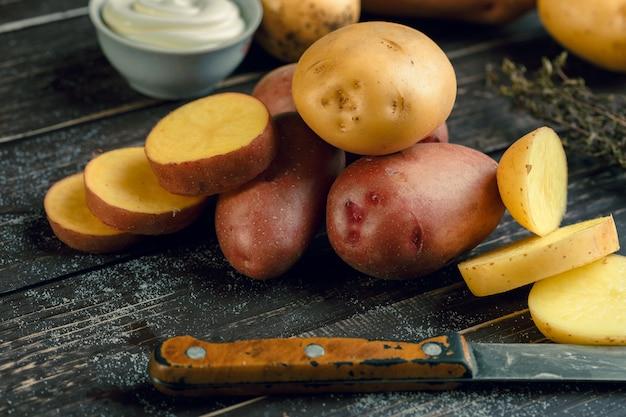 Batatas frescas