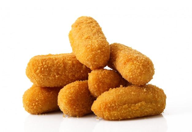 Batatas fritas croquetes