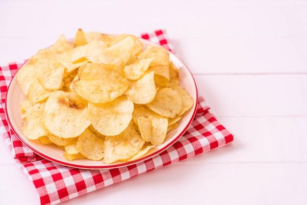 Batatas fritas na chapa