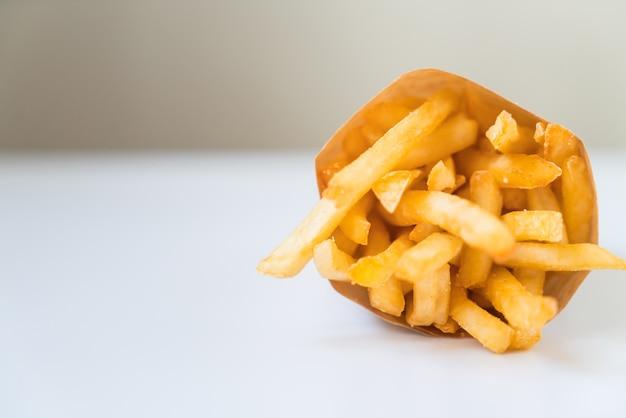 Batatas fritas Foto Premium