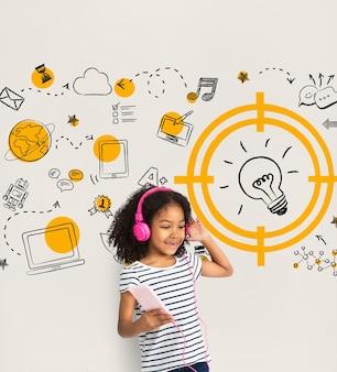 Bate-papo nas redes sociais para crianças