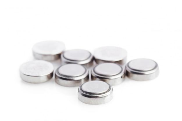Baterias de lítio isoladas
