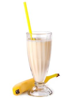 Batido de banana delicioso