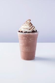 Batido de leite e cacau, milk-shake de chocolate