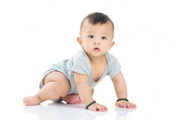 Bebê asiático