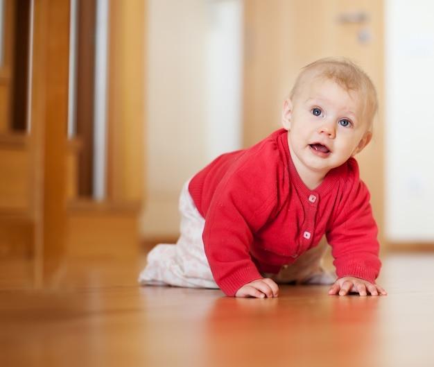 Bebê de sete meses de idade
