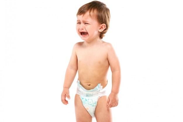Bebê está chorando