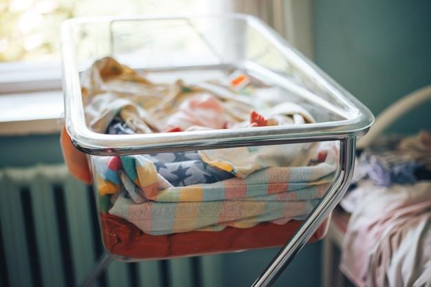 Bebê recém-nascido no hospital pré-natal