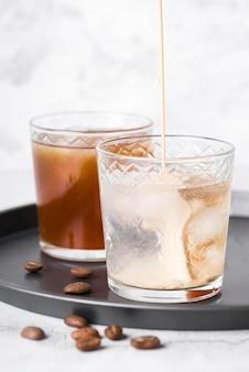 Bebida alcoólica forte com café