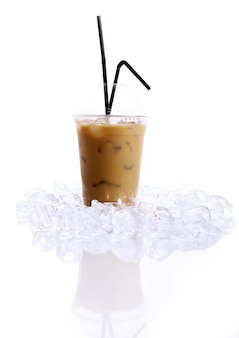 Bebida de café frio