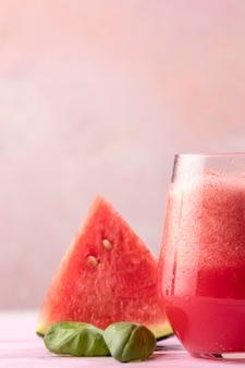 Bebida de melancia deliciosa