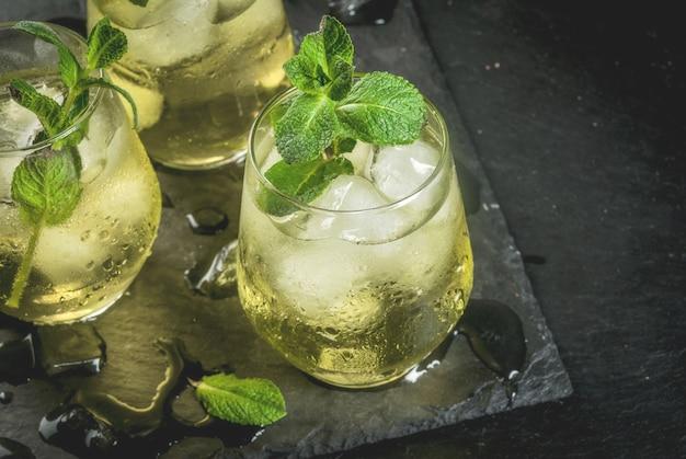 Bebida espanhola tradicional rebujito