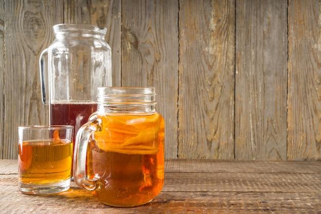 Bebida fermentada kombucha