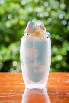 Bebida gelada fansy smoothy