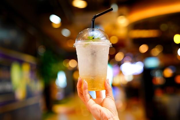 Bebida refrescante refrigerante de tamarindo