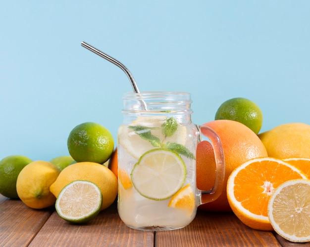 Bebidas com sabor a frutas