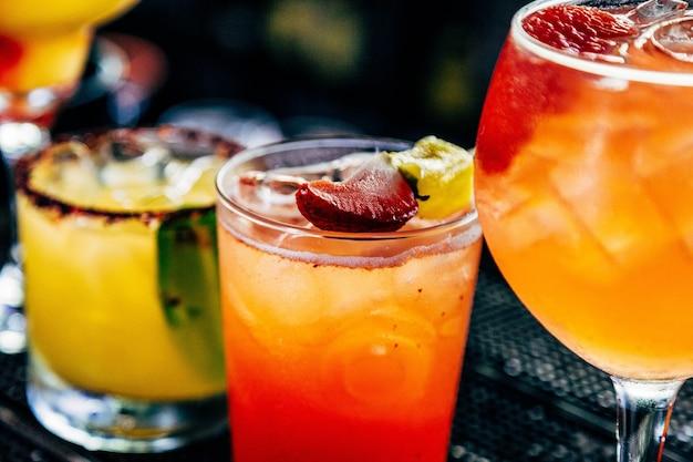 Bebidas de verão