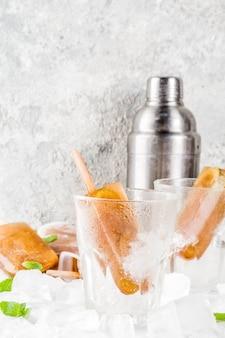 Bebidas refrescantes congeladas