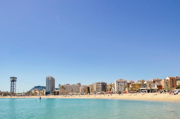 Beira-mar em barcelona