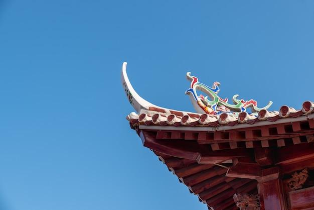 Beirais e recantos da arquitetura budista chinesa tradicional