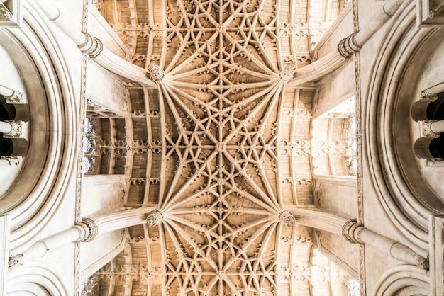 Bela arquitetura christ church cathedral em oxford, reino unido