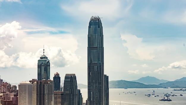 Bela arquitetura, cidade de hong kong.