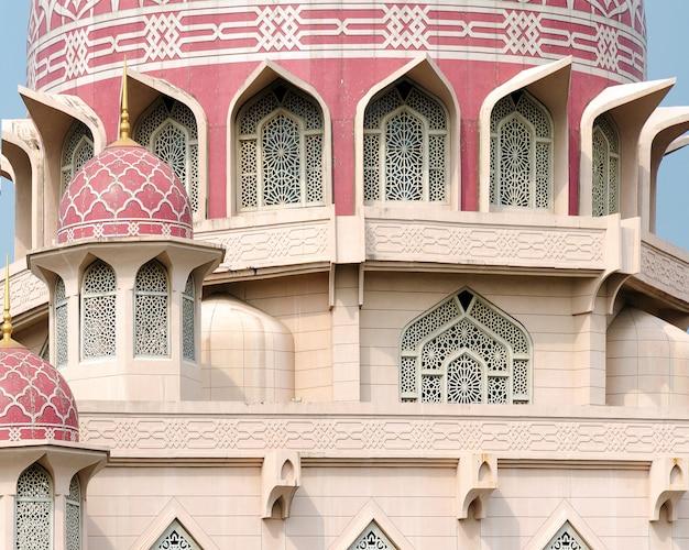 Bela arquitetura da mesquita putra