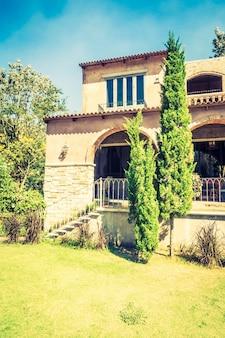 Bela arquitetura estilo itália