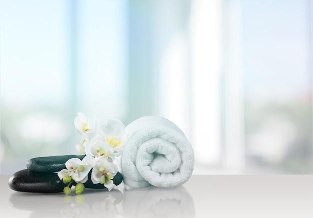 Bela composição de spa, conceito de saúde