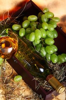 Bela composição de vinho