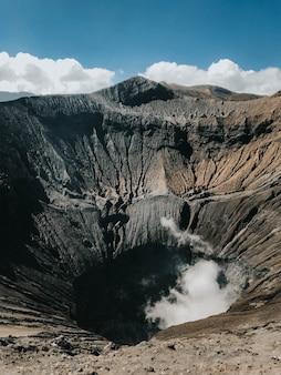 Bela cratera de bromo