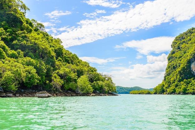 Bela exterior natureza água andaman