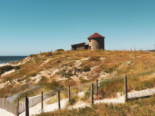 Bela foto do parque natural do litoral norte