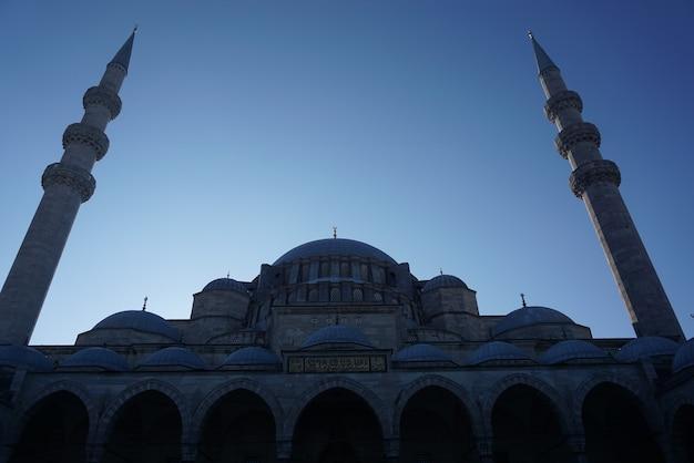 Bela mesquita em istambul, turquia